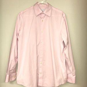 Banana Republic Stretch Shirt - Light Pink - Sz L!